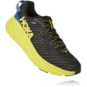 Hoka One One Rincon Shoes Men black/citrus